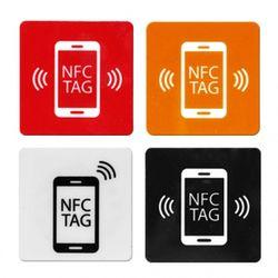 탈부착 가능한 NFC 태그 스티키 패드 미니 사이즈