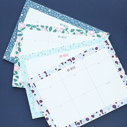 PROMENADE WEEKLY DESK PAD-30 WEEKS