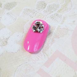 다이아몬드 컷 뾰족스톤 크리스탈 투명