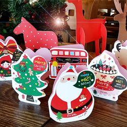 토이친구들 크리스마스 카드 6장세트 (2가지디자인)