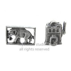 [Mybutton][SET]Elephant+Lucky machine Pinbadge