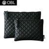 OBL quilting black clutch bag-퀼팅블랙 클러치백(M)