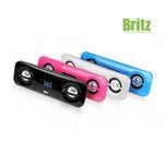 브리츠 USB 충전식 휴대용 스피커 BR-2300 Candy