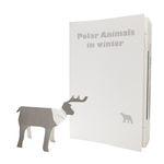 Polar animal in winter