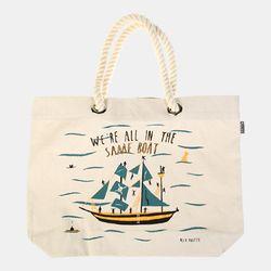 [Talented] SAME BOAT BEACH BAG