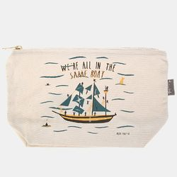 [Talented] SAME BOAT ZIP PURSE
