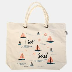 [Talented] SET SAIL BEACH BAG