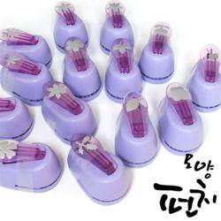 포코스 꽃모양펀치 14종세트 (P-6688B)