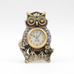 데일리데코 작은눈 부엉이 탁상 시계