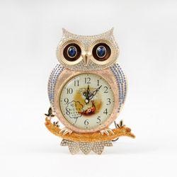 데일리데코 큰눈 부엉이 탁상 시계