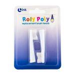 Link 유아 어린이 오뚝이 칫솔 Roly Poly-교체 칫솔모