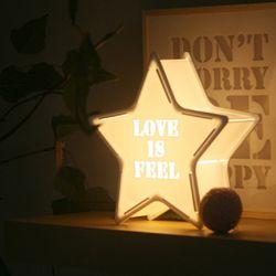 화이트 STAR [LOVE IS FEEL] 카피라이트
