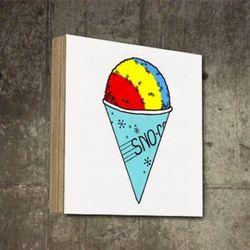 매장인테리어 팝아트 아이스크림 그림 액자 SQ-398