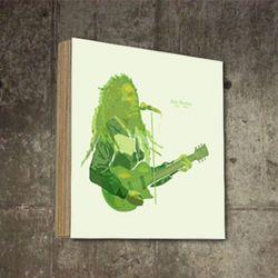 팝아트액자 빈티지 탁상용 밥말리 디자인 SQ-326