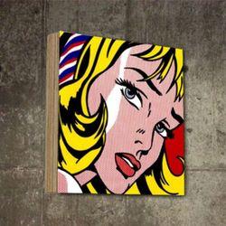 팝아트액자 빈티지 초상화 디자인 탁상용 SQ-265