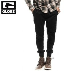 [GLOBE] GOODSTOCK JOGGER SLIM FIT PANT (BLACK)