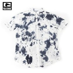 [GLOBE] TIDE SS SHIRTS (WHITENAVY)