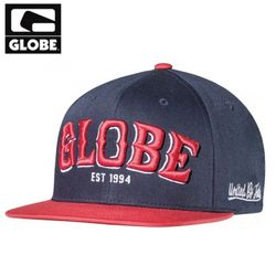 [GLOBE] BOYS BRIDGE SNAP BACK CAP (BLUE)