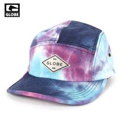 [GLOBE] COLLECT 5 PANEL CAP (BLUE)