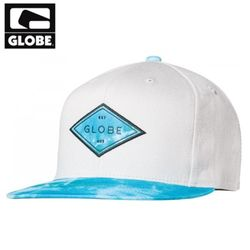 [GLOBE] DIAMOND SNAP BACK CAP (OFF WHITE)