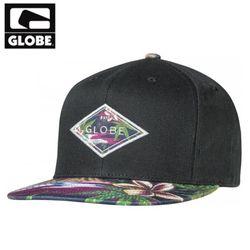 [GLOBE] DIAMOND SNAP BACK CAP(BLACK)