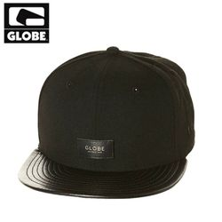 [GLOBE] LIFE WELL LIVED CAP (BLACK)