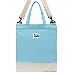 DAILY DENIM CROSS BAG (LIGHT BLUE)