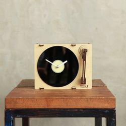[WOODSUM] 턴테이블 시계