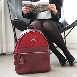 BLEND OFFICE LEATHER BACKPACK