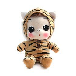 뚱(ddung) 동물 봉제인형-호랑이(18cm)