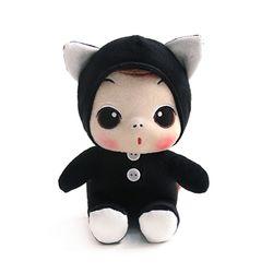 뚱(ddung) 동물 봉제인형-고양이(18cm)
