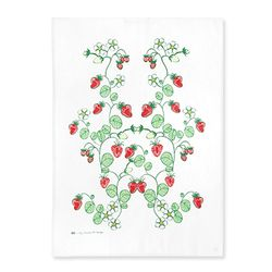Strawberries Teatowel 티타올 (레드)