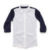 (AS1541) modern shirts white