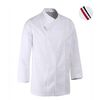 (AJ1585) parisiene chef coat white