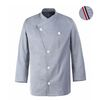 (AJ1585) parisiene chef coat skyblue
