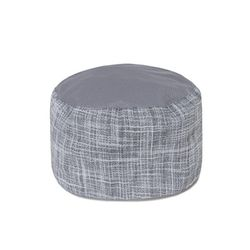 (AH1589) french chef linen gingham hat grey