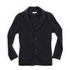 (AC1612) classic jacket cardigan black