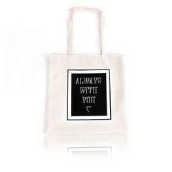 프레임숄더에코백(Frame Shouler Eco Bag)-WHITE