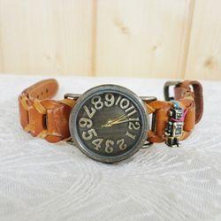 빈티지 로봇 시계(대)