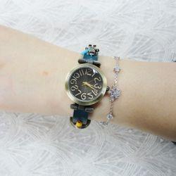 빈티지 로봇 시계(소)