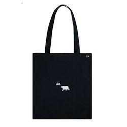 polar bear cotton bag
