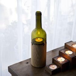 와인 캔들 홀더 (그린)
