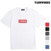 밴웍스 크랙 박스로고 반팔 티셔츠 (V15TS001)