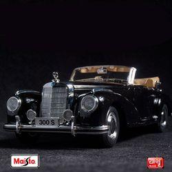 1:18 스페셜 1955 벤츠 300S - 블랙 - 클래식카