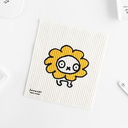 SNOWCAT Dishcloth 스웨덴 행주 - Flower