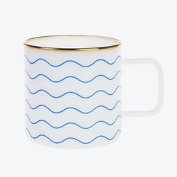 ECO MILK GLASS MUG (L) - wave