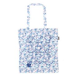 [Talented] TEA CUPS (BLUE) FLAT TOTE