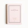 Daily planner 2nd Edition Pink