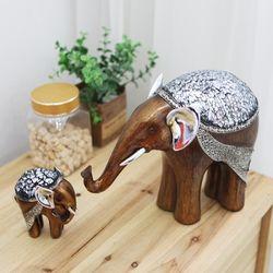 데일리데코 코끼리 크랙 인테리어 장식