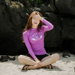 Kelly Rashguard - Purple